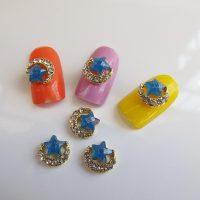 10-unids-lote-Glitter-Rhinestone-Blue-Star-Luna-Joyer-a-Del-Clavo-Del-Arte-Del-Clavo-1.jpg